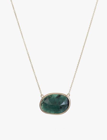 Kathryn Bentley Emerald Slice Necklace