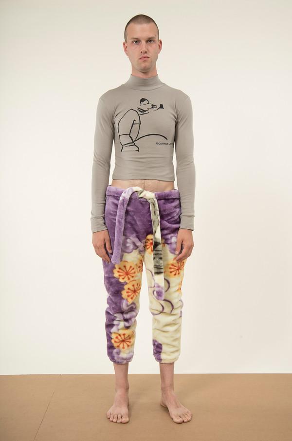 Men's Eckhaus Latta Blanket Sweatpants