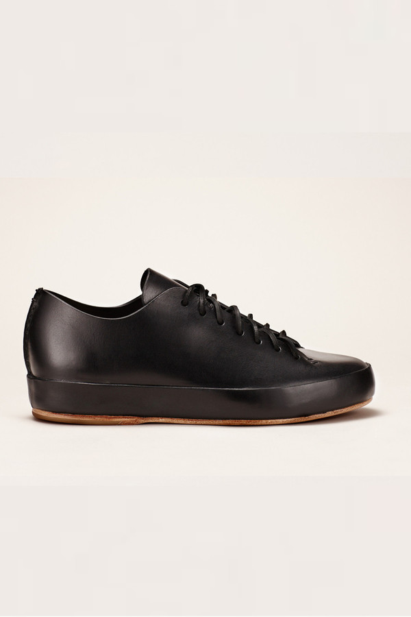 Men's FEIT Black Hand Sewn Low