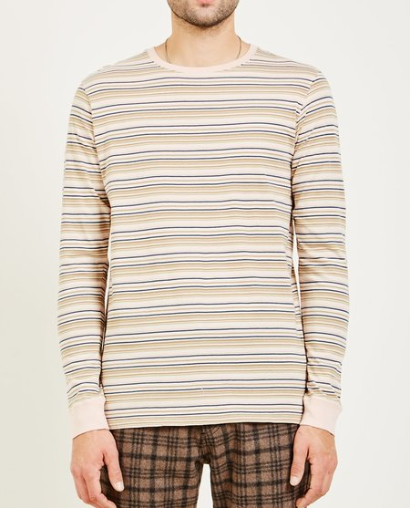 Banks Journal COUNTERPARTY LONG SLEEVE TEE - TAN