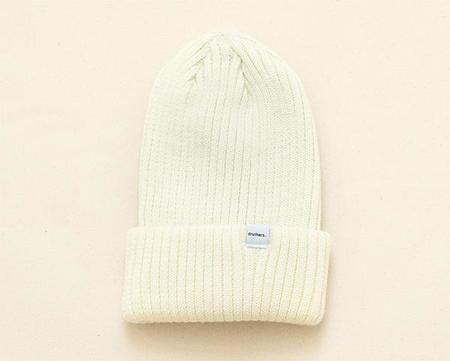 Druther's Druthers Merino Wool Knit Beanie - White