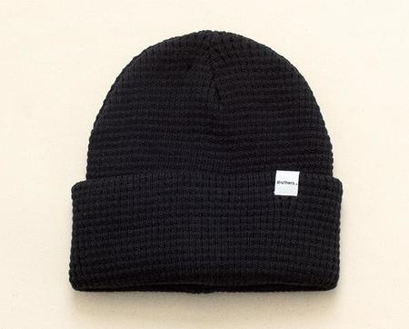 Druther's Druthers Waffle Knit Beanie - Black
