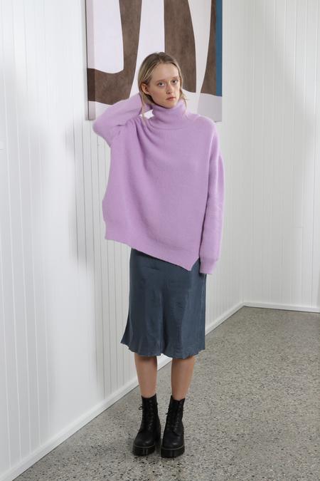 Nanushka Motta Turtleneck Sweater - Lilac