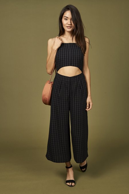 dc55214b4e61 ... Whimsy   Row Augustine Jumpsuit - Grid