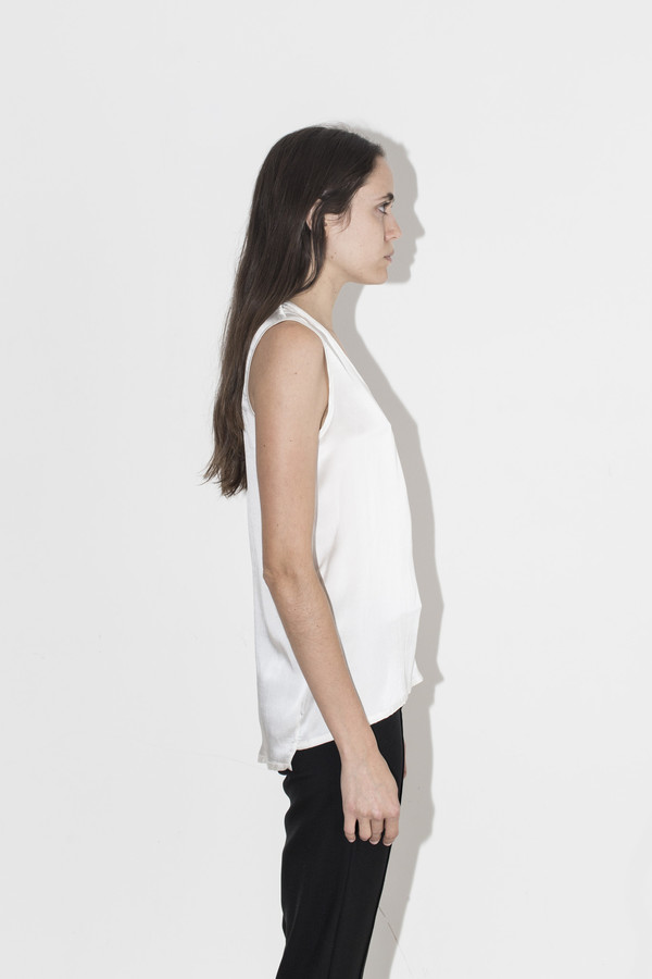 Kahle Ivory Muscle Tee