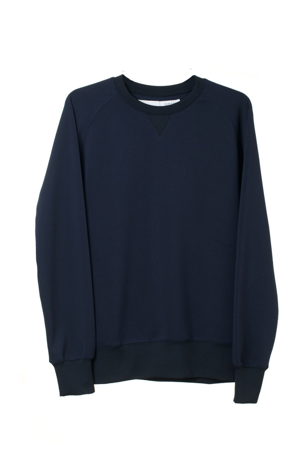 Men's Smith & Hardy Navy Longsleeve Sweatshirt