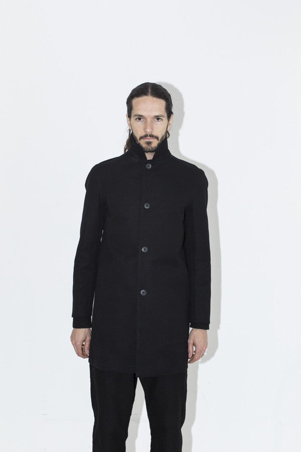 Men's Neuba Black Twill Water Jacket