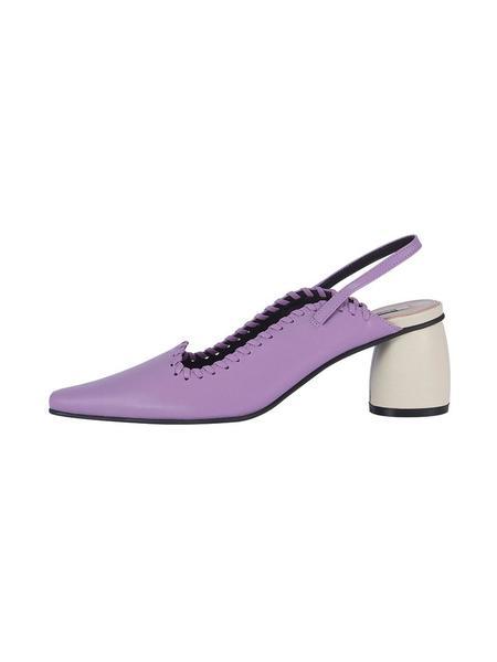 Reike Nen Curved Middle Slingback - Purple/Ivory