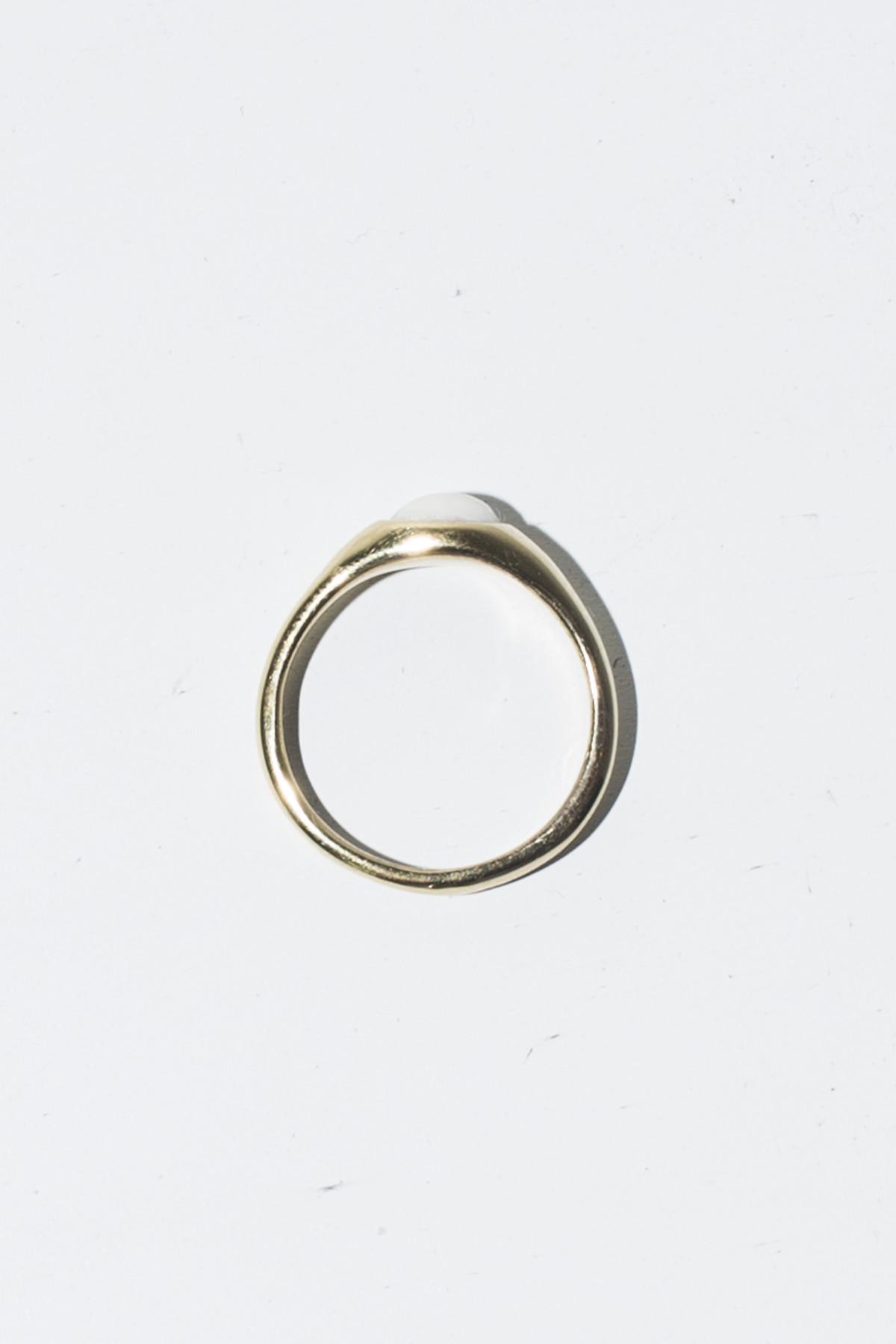 Nikolai Rose Bone Ring