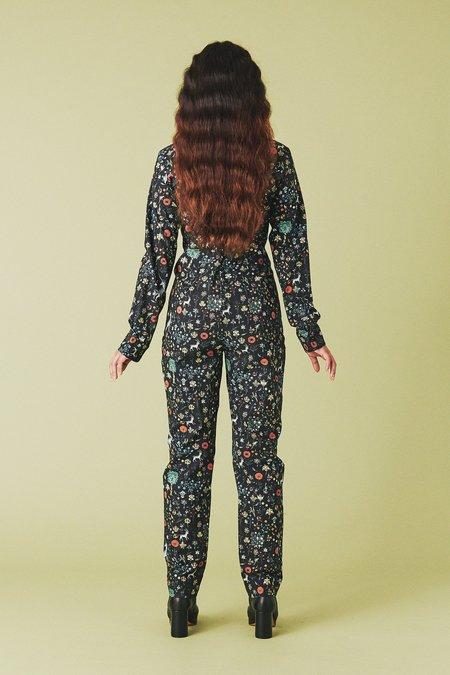 Samantha Pleet Empress Jumpsuit - Illuminated Print