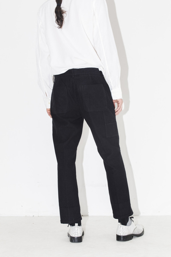 Men's Ones Stroke Flannel Cropped Pant