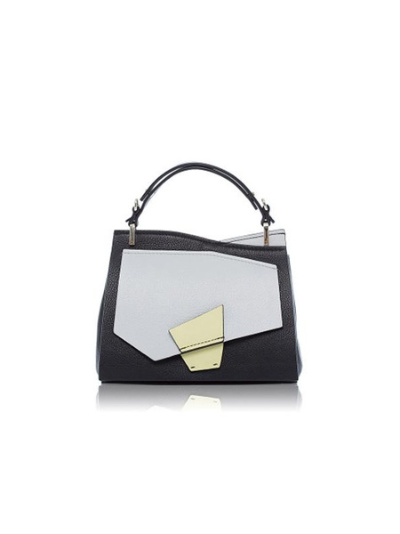 INCOMPLETE Fragment Series Flap Cross Body Bag - Black/Gray