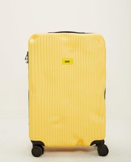 CRASH BAGGAGE STRIPE MEDIUM luggage - YELLOW