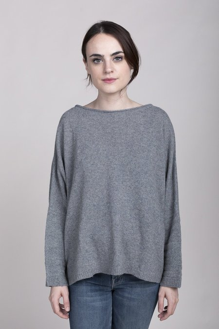 ICHI ANTIQUITES 2-Way Sweater - Grey