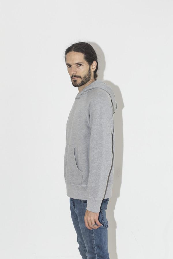 Men's Velva Sheen Grey Pullover Hood