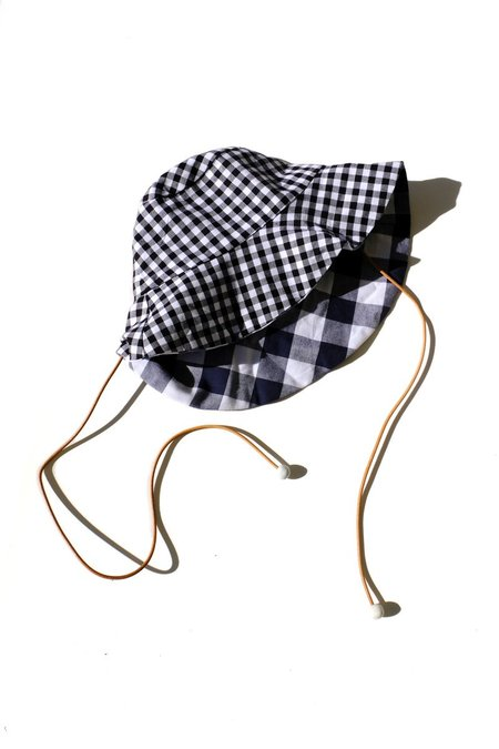 Jujumade Reversible Bucket Hat - Gingham