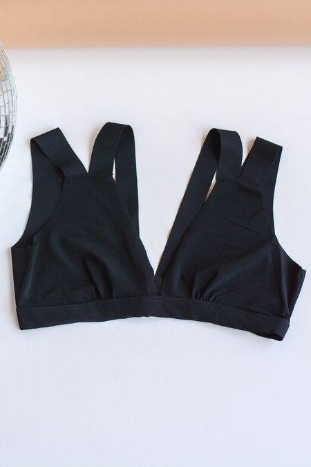 Commando Stripped Bralette - Black