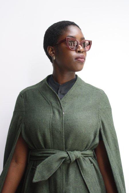 Carla Colour Barton Sunglasses - Blood/Glazer