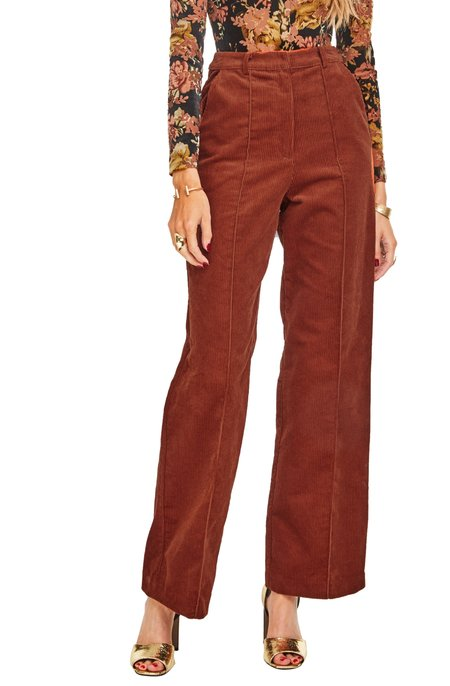 ASTR The Label Corduroy Robertson Pant - Maple