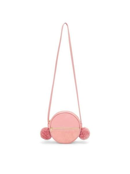 ban.do Sidekick Crossbody Pom Pom Purse - Pink