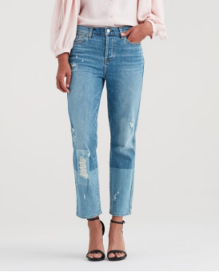 7 For All Mankind Edie with Patches Jeans - LSDP