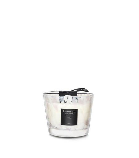 Baobab Collection Max 10 Scented Candles - White Pearls