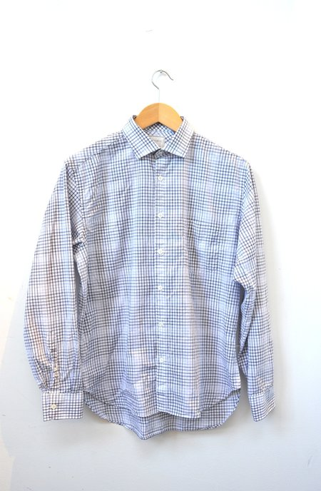 Billy Reid John Shirt - Navy/Blue