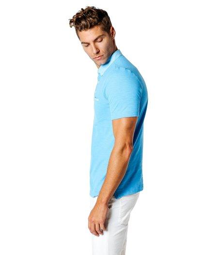 Good Man Brand Garment Dyed Polo - Sky Blue