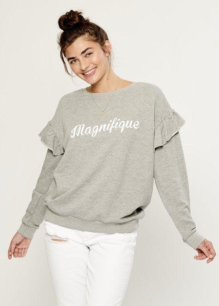 6c9e3e635fb4a ... South Parade Magnifique Boyfriend Sweatshirt - Heather Gray