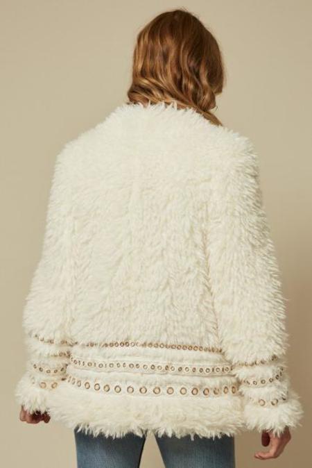 Goldie London Arianna Jacket - Ivory