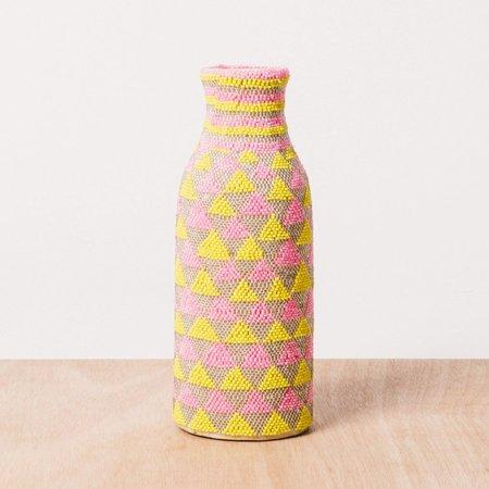 Kazi Sunny Side Beaded Bud Vase