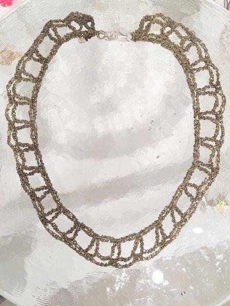 Arielle de Pinto Blackwork Collar Haze Necklace