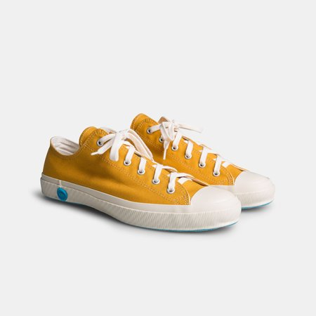 Shoes Like Pottery Canvas Low Top Sneaker - Mustard