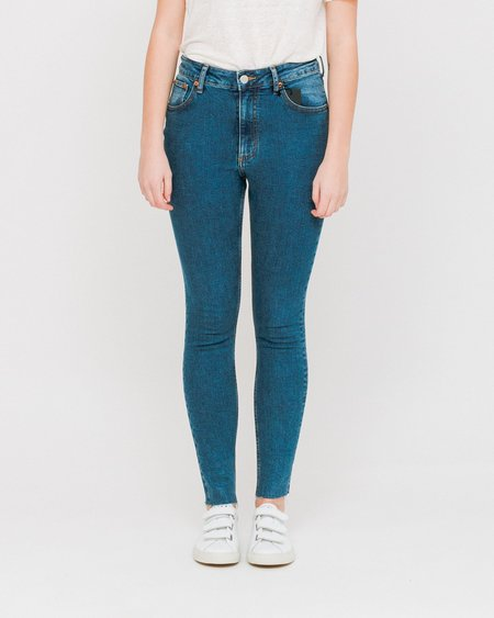 Cheap Monday High Skinny Jeans - Blue Love