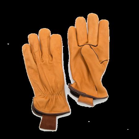 Unisex Geier Glove Light Lined Deerskin Work Glove - Tan