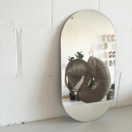 Form Fine Goods Racetrack Mirror