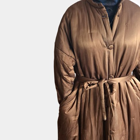 Sula Tulip Coat - Monk Brown