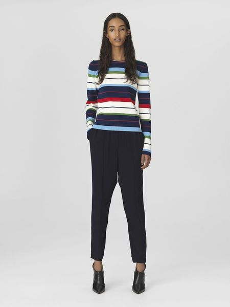 By Malene Birger Torris Sweater - Midnight Heaven