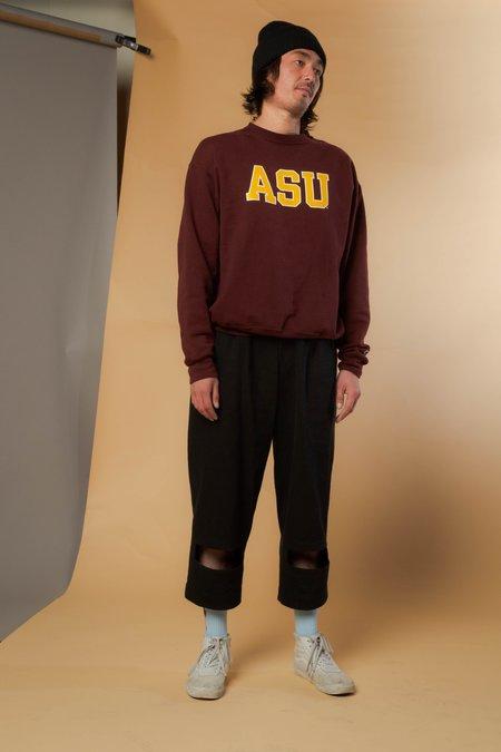 Unisex Nancy Stella Soto Rectangle Cutout Denim Trousers