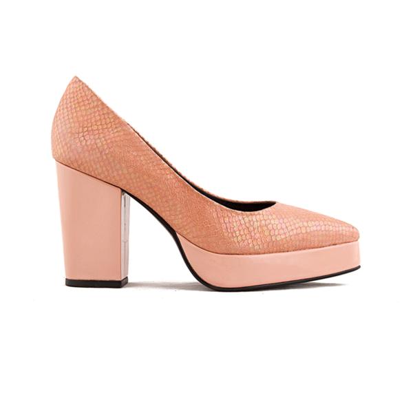 MUTMA corvette Heels - Pink