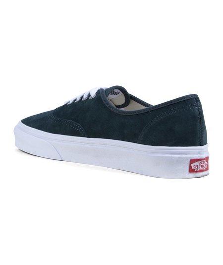 VANS UA Authentic Pig Suede Sneakers - Green