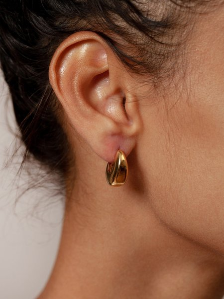 Wolf Circus Hepworth Hoops - Gold