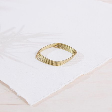 Kin+Kind Bracelet Set - BRASS