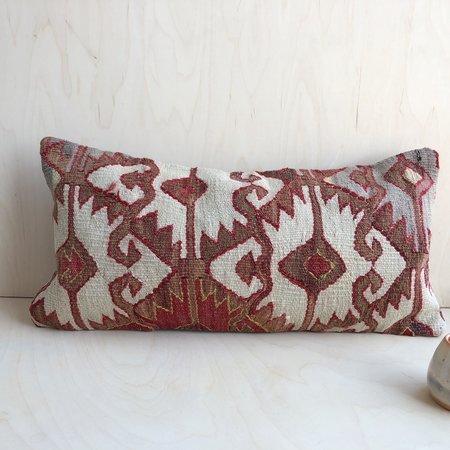 Kin+Kind Kilim Lumbar Pillow - Rust