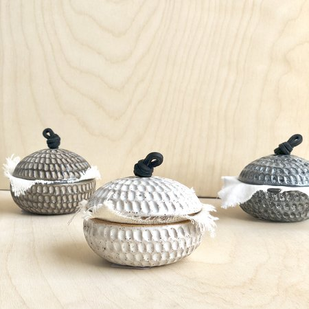 Rooted in Mud Small Lidded Catchall Box