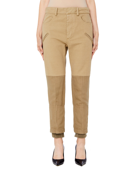 Haider Ackermann Cotton Mix Chinos Pants - Beige