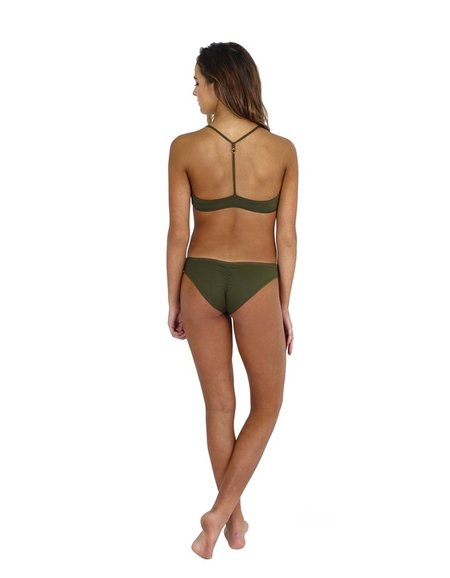 Fenntessa Full Coverage Ruched Bottom - Olive