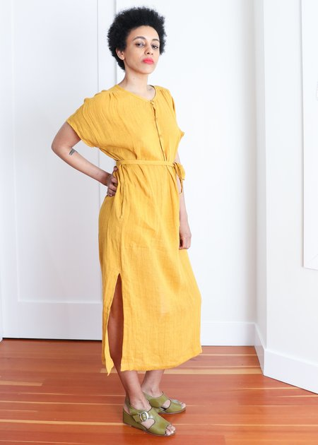 Gravel & Gold Savio Dress - Sunflower