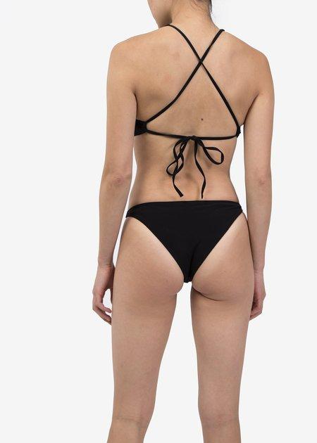 Ocin Halter Swim Top - Black