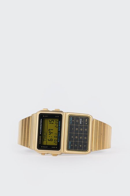Casio Databank Calculator Watch (DBC611G-1D) - Gold